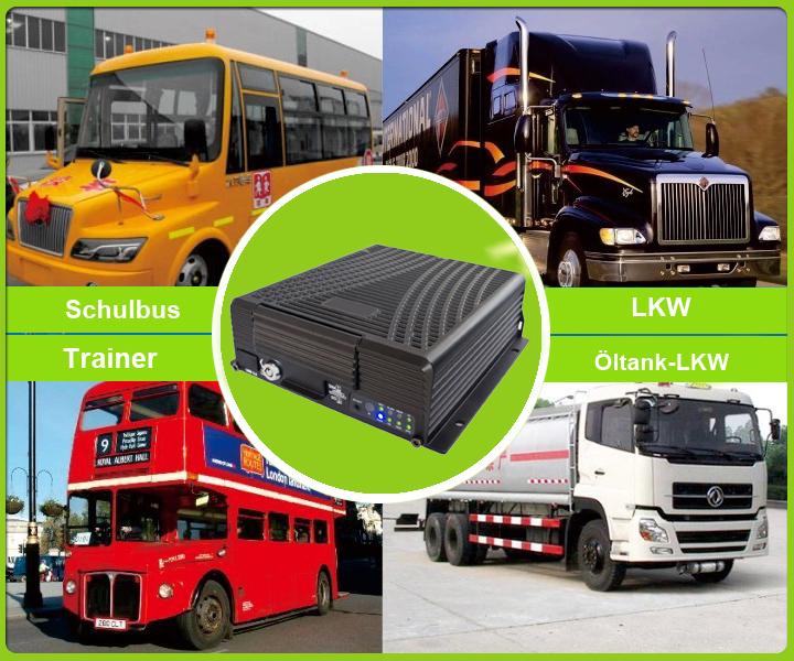 8 Kanal 3g Mobile Dvr Mit 3g Gps Wifi Und G Sensor Für Die Fahrzeugsicherheit Unterstützung überwachungsfern Handy Bus Und Lkw Monitoring Lösungen Für Fahrzeug Sicherheitssystem